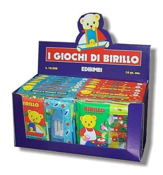 Display i giochi di Birillo