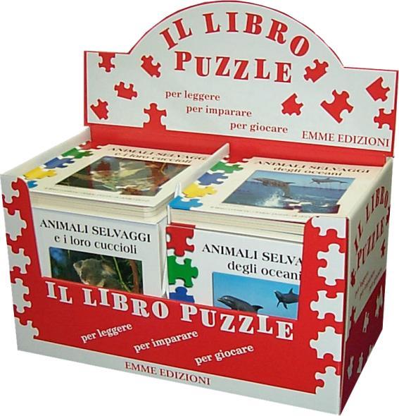 Display il libro puzzle