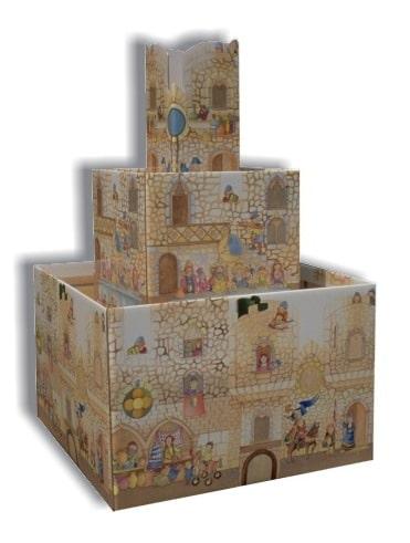 Espositore castello libri