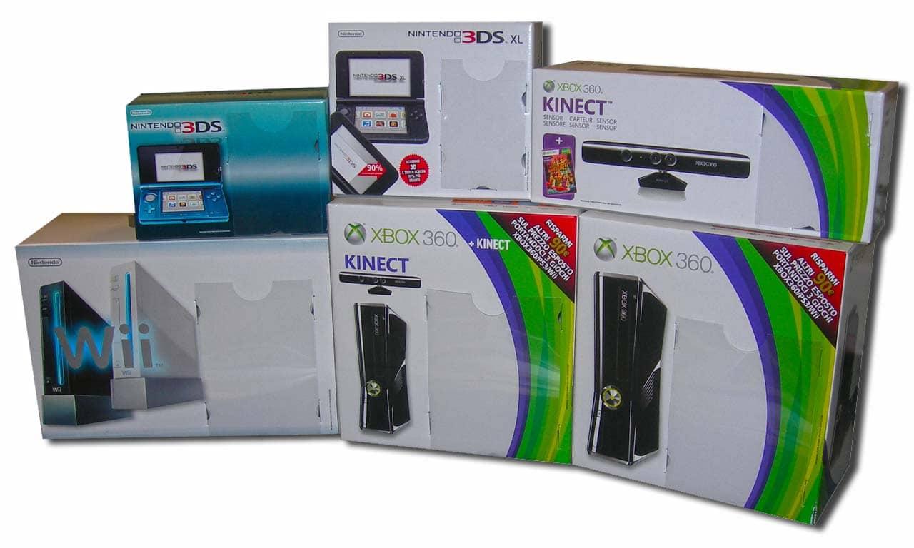Scatole cartone Console XBOX