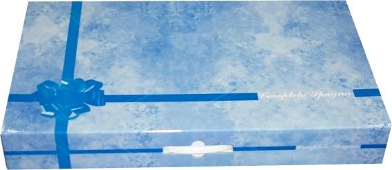 Valigia azzurra