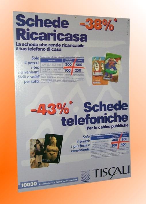Miscellanea Tiscali Ricaricasa Schede Telefoniche