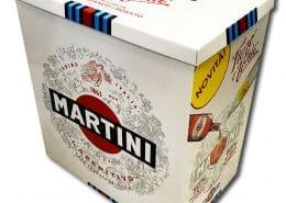tavolo in cartone Martini