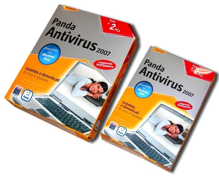 Astucci per software Panda Antivirus