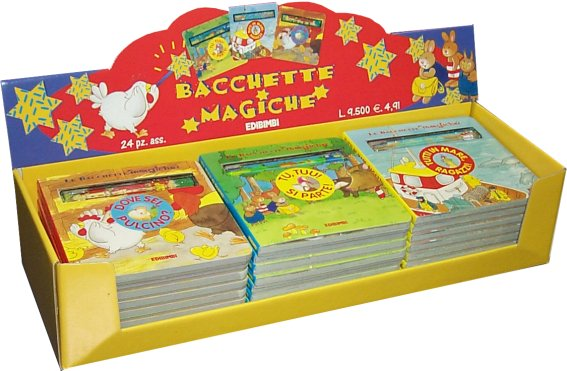 Display bacchette magiche