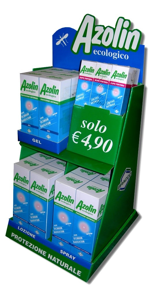 Display Bracco Azolin