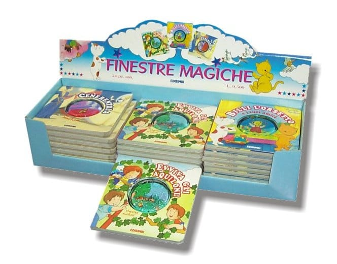Display finestre magiche