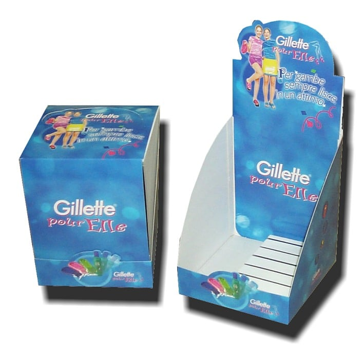 Display Gillette