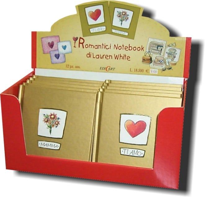 Display romantici notebook