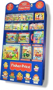 Espositore Libri Fisher Price