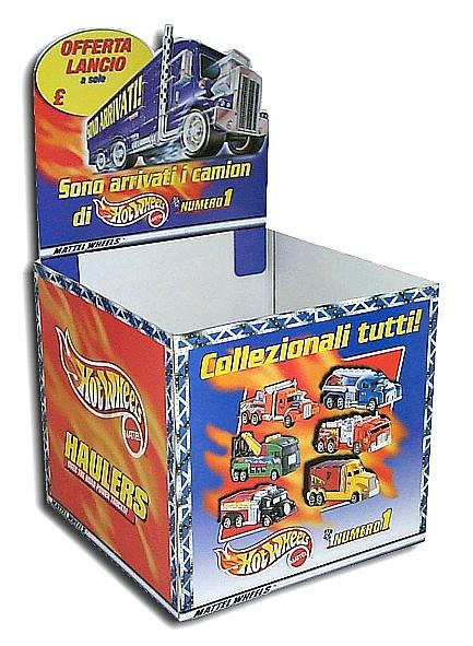 Espositore Mattel Hot Wheels