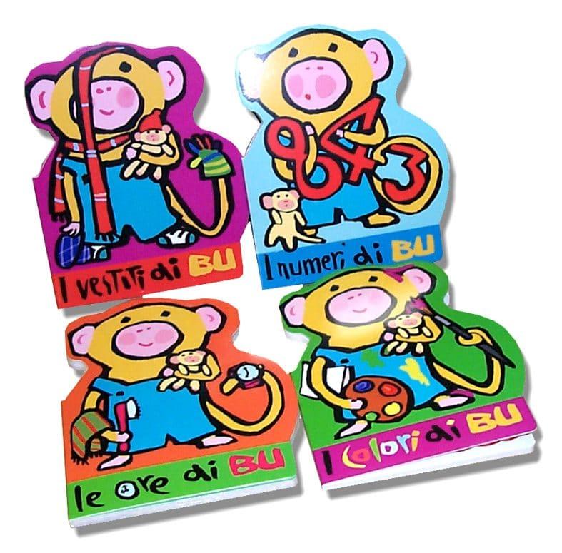 Libri sagomanti in cartone per bambini