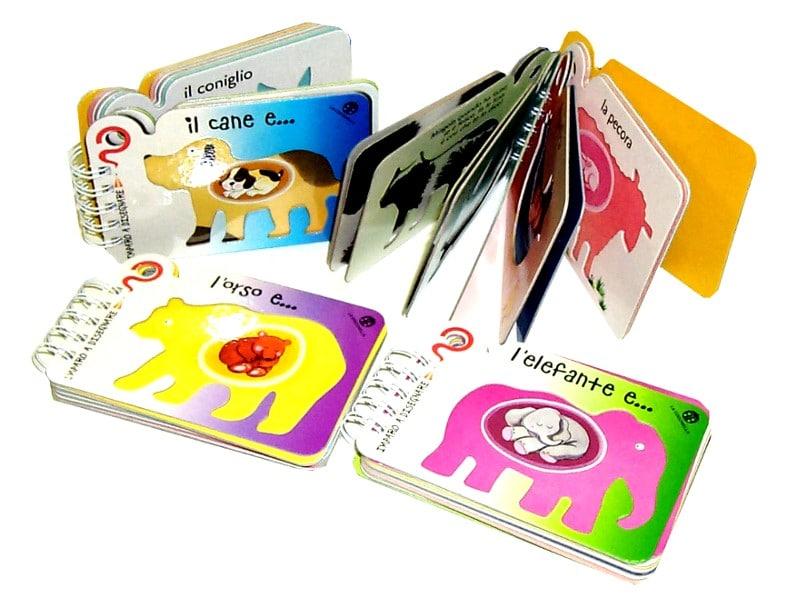 Libri vari cartoncino per bambini