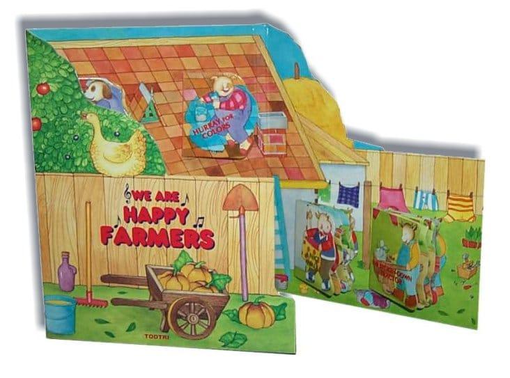 Libro a leporello per bambini