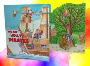 Libro bambini Pirati