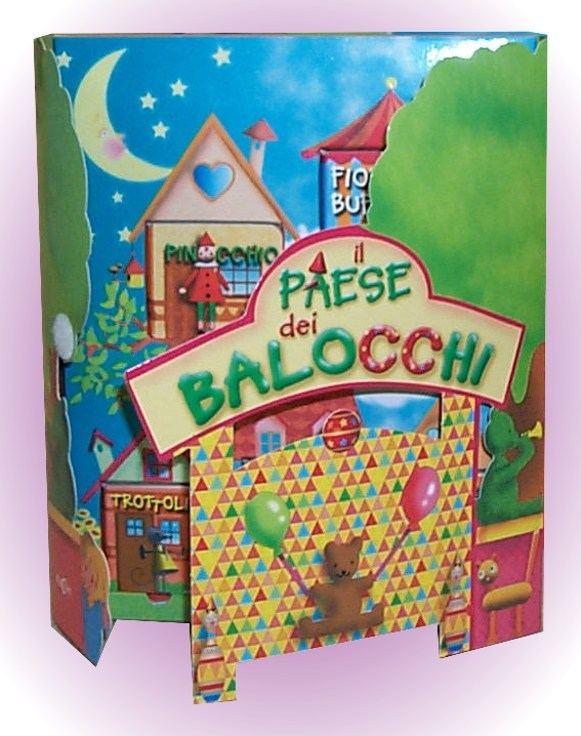 Libro gioco per bambini il Paese dei Balocchi
