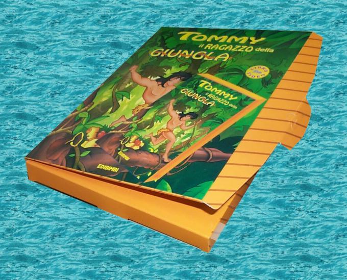 Confezione VHS Tommy il ragazzo della giungla