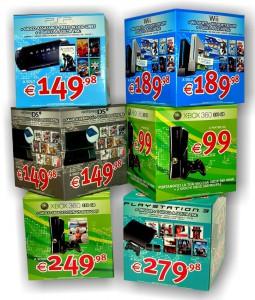 Cubi cartone Playstation