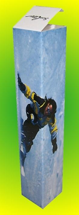 Scatola cartone Snowboard