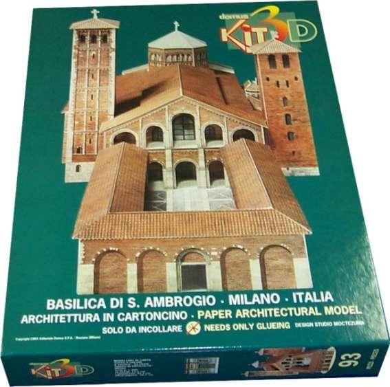 Scatola puzzle 3D Basilica S. Ambrogio